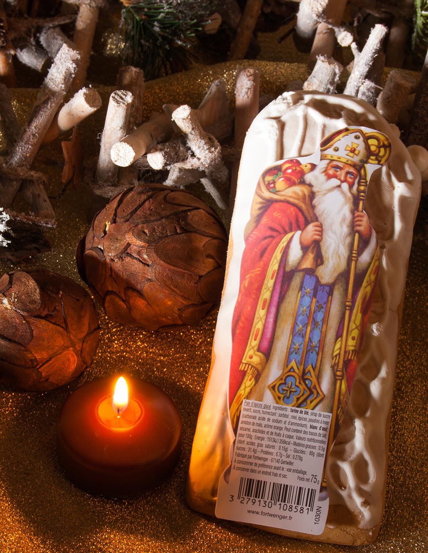 Iced gingerbread St. Nicholas