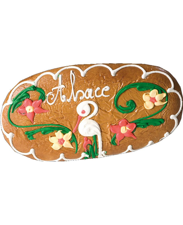 Alsatian gingerbread oval