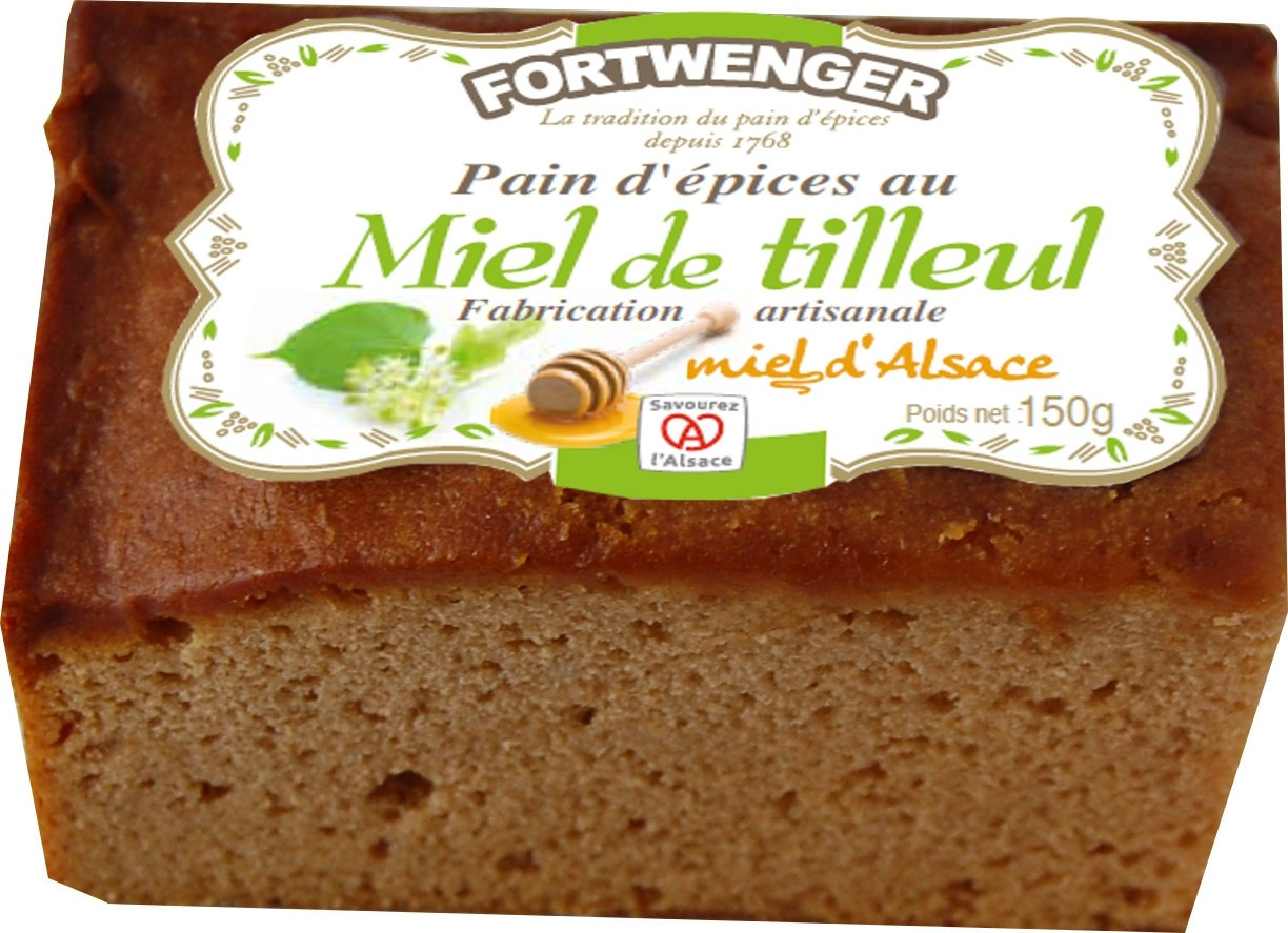 Alsatian Lime honey gingerbread