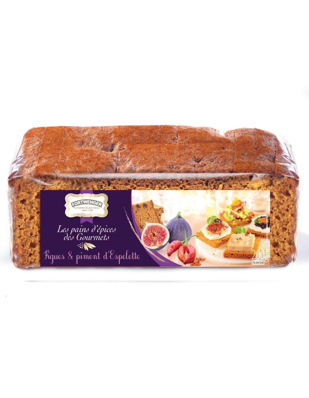Gourmets' gingerbread - Figs & Espelette pepper