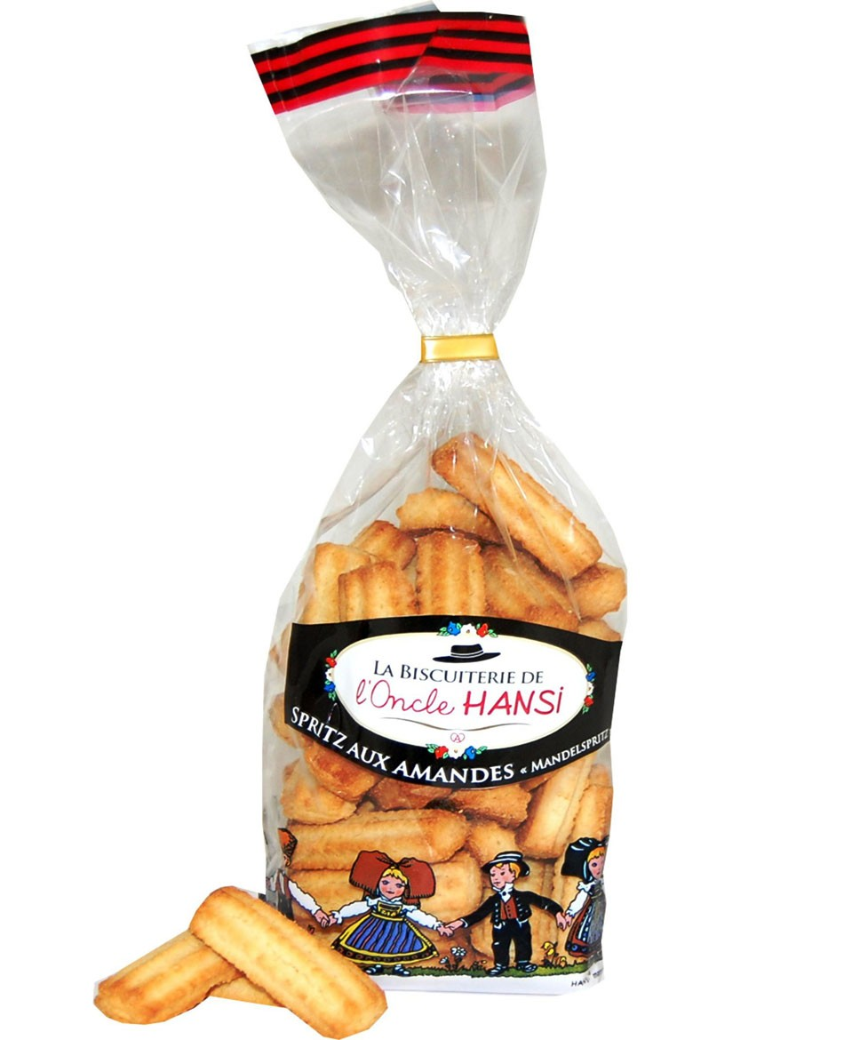 Uncle Hansi's Biscuit Factory: almond spritz