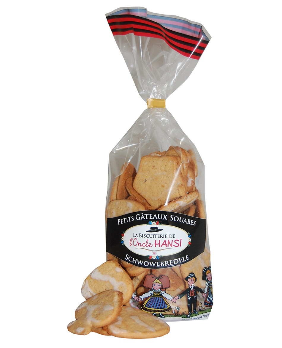 Uncle Hansi's Biscuit Factory: little Swabian biscuits (Schwowebredele)