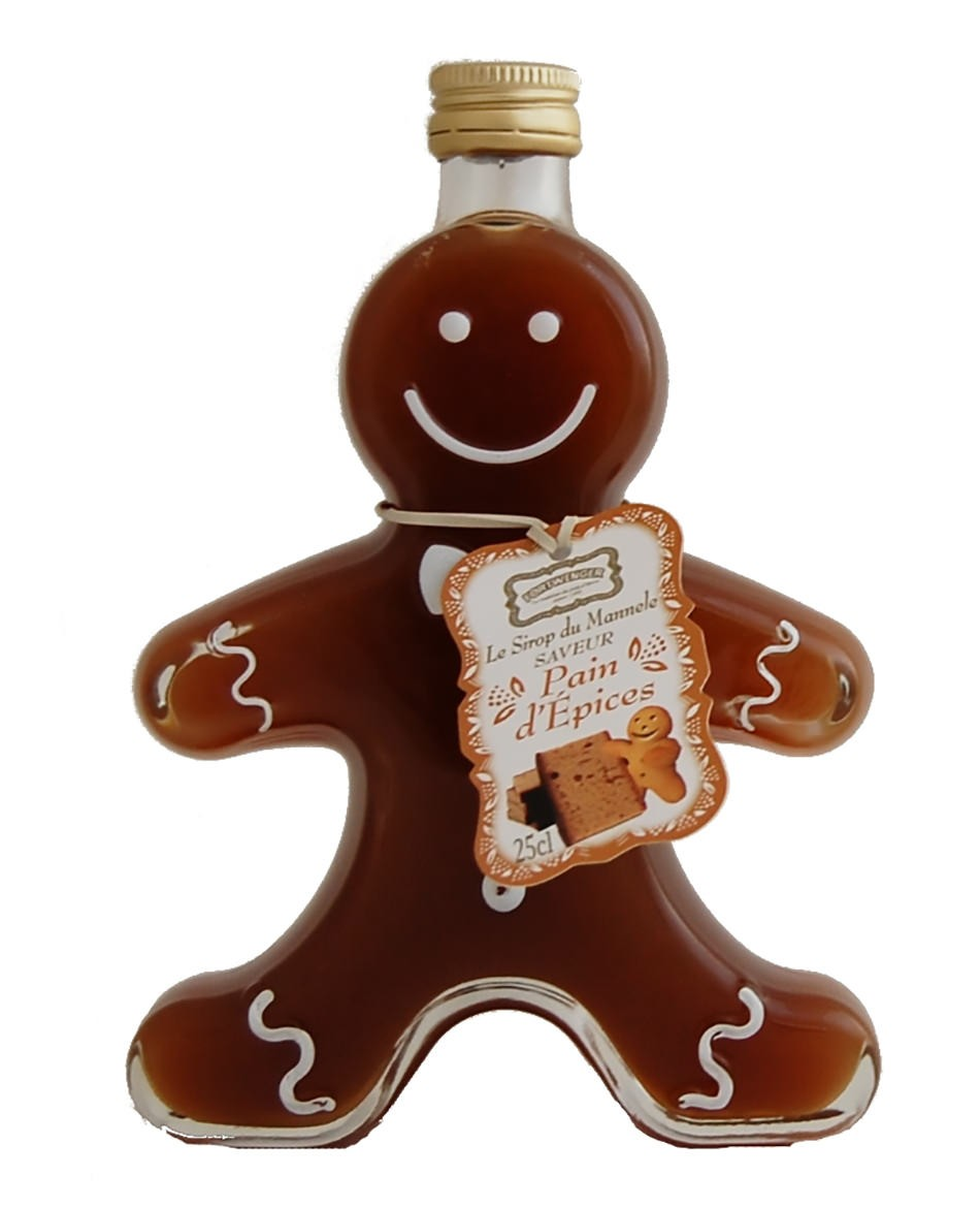 Gingerbread-flavoured syrup