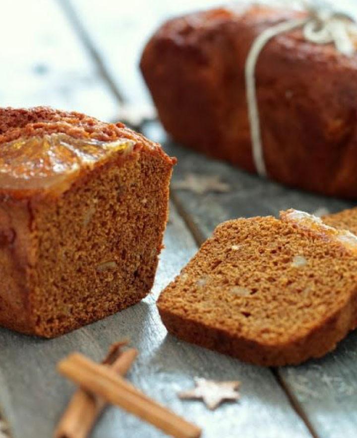 Sliced Couque loaf