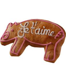 Alsatian gingerbread piglet