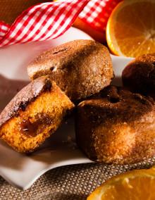 6 Nonnette honey cakes with orange filling