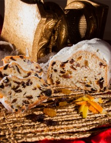 Butter stollen with fruit 500g