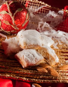 Mini Stollen with marzipan
