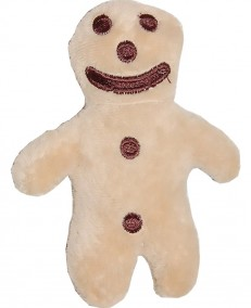 "Small ""Mannele"" gingerbread man soft toy"