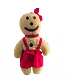 """Maidele"" gingerbread man soft toy"