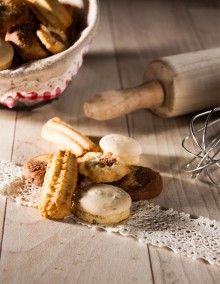 Uncle Hansi's Biscuit Factory: biscuit assortment