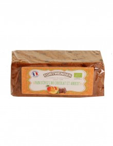 Organic gingerbread - chocolate and apricot