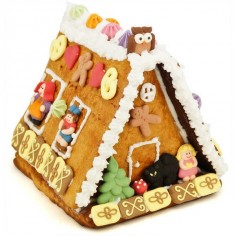 Decorate-your-own gingerbread house