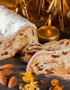 Stollen with marzipan 750g