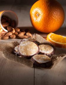 Orange and marzipan