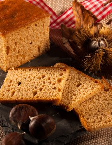 Alsatian chestnut honey gingerbread