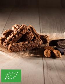Organic chocolate almond spritz