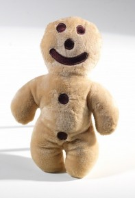 "Medium ""Mannele"" gingerbread man soft toy"